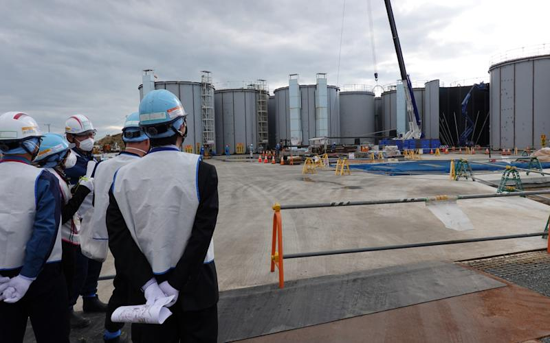 Fukushima Dai-ichi operator Tepco said that concerns oversecurity prevented independent testing of the water beubg storoed in vast tanks