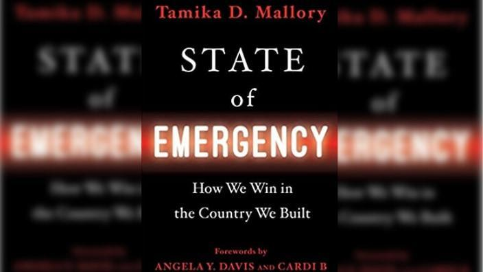 """Book cover for Tamika Mallory's """"State of Emergency."""""""