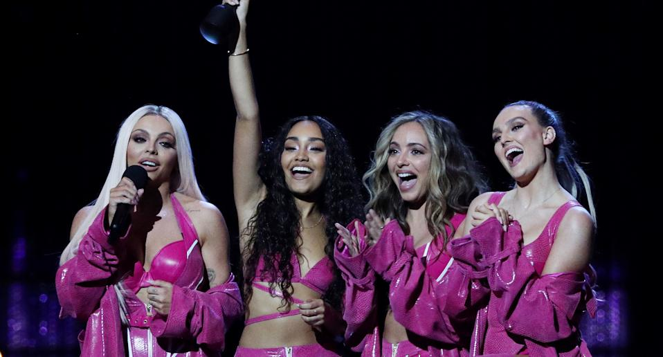 Jesy Nelson has permanently left Little Mix. (Reuters)