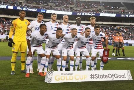 Soccer: CONCACAF Gold Cup-USA at Curacao