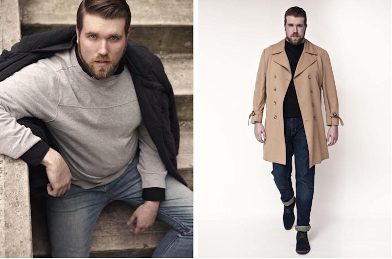 img launches 'brawn' board for plus-size male models