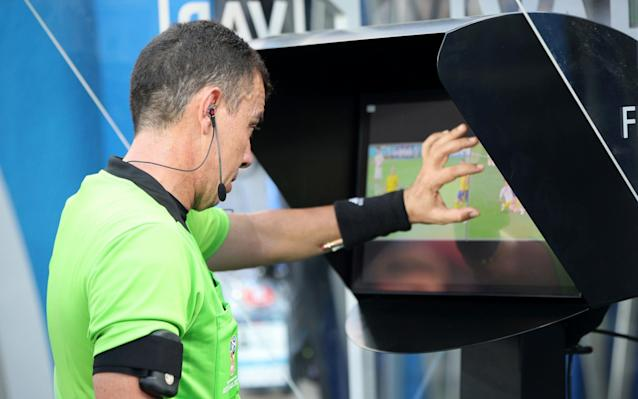 """More penalties According to a Betfair source, the average pre-game price on a penalty taken in the Premier League last season was 4.05 and it's around 3.0 for World Cup matches at the moment."""" So bookmakers normally offer odds of around 3/1 that there will be a penalty, and now it 2/1 about a spot-kick in the 90 minutes. That's, obviously, because we are seeing more penalties, and that is due to VAR. Egypt's Mohamed Salah (bottom) goes down in the box, resulting in a penalty v Russia Credit: PA Better takers If the chances of getting a penalty increase, then it makes sense to get better at taking them. There really should be no excuse for a professional failing to kick the ball into the net from 12 yards. If you strike the penalty well, it should take about 0.4 seconds to reach the goal. An average professional goalie takes 0.6 seconds to dive across the goal. If you put it in the corner, hard, that's the end of the matter. England's goalkeeper Jordan Pickford fails to stop a penalty kick during the Russia 2018 World Cup Group G football match v Tunisia Credit: AFP Specialist takers? Even the very best, however, don't manage that all the time. Lionel Messi has a career success rate of 81%: 71 out of 88. Cristiano Ronaldo, who is about as good as it gets, is up at 84%: scoring 93 out of 111 efforts in his career. If a team was getting a penalty every three matches (as implied by the 2/1 odds) then that might be 13 opportunities across a League season. A team that could score 12 out of 13, say, could give itself a significant advantage. Might we start seeing penalty ability being a factor in selection? Or even a special teams penalty taker who could be on the bench if a team got a spot-kick late in the game? Cristiano Ronaldo scores a penalty past Spain's goalkeeper David De Gea Credit: AFP Set pieces We are seeing a lot of good freekicks and corners this World Cup, and a lot of goals from them. This is because VAR makes it harder for defenders to get away with manhan"""