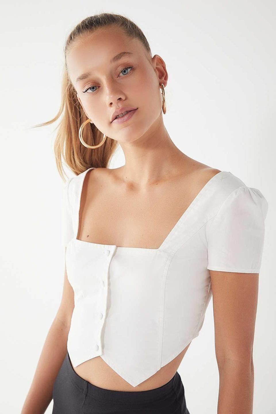 Romantic, but not too girly. Available in sizes XS to L.