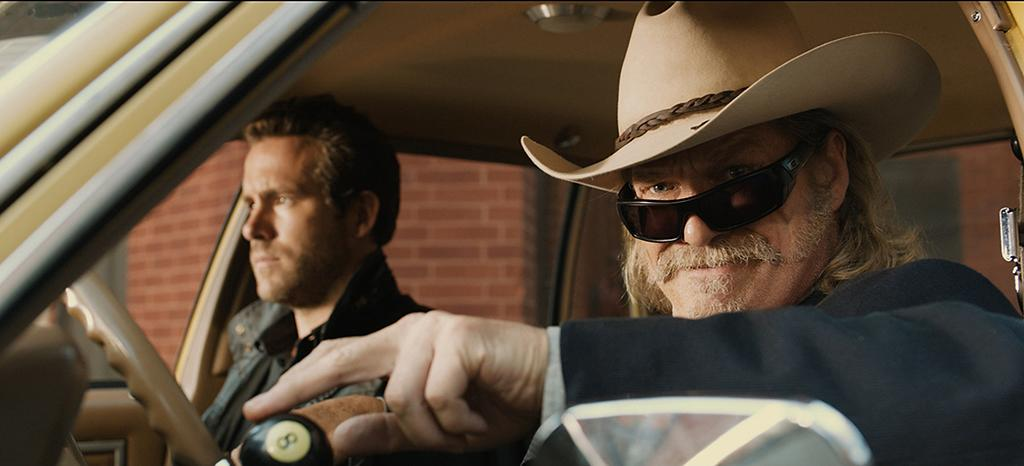 "Jeff Bridges and Ryan Reynolds in Universal Pictures' ""R.I.P.D."" - 2013"