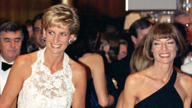 The 'Vogue' editor-in-chief and Tina Brown remember Diana as 'terribly lonely.'