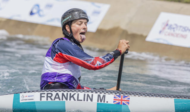 Mallory Franklin is one of Team GB's leading canoe slalom hopes ahead of the 2020 Olympics, now only one year away.