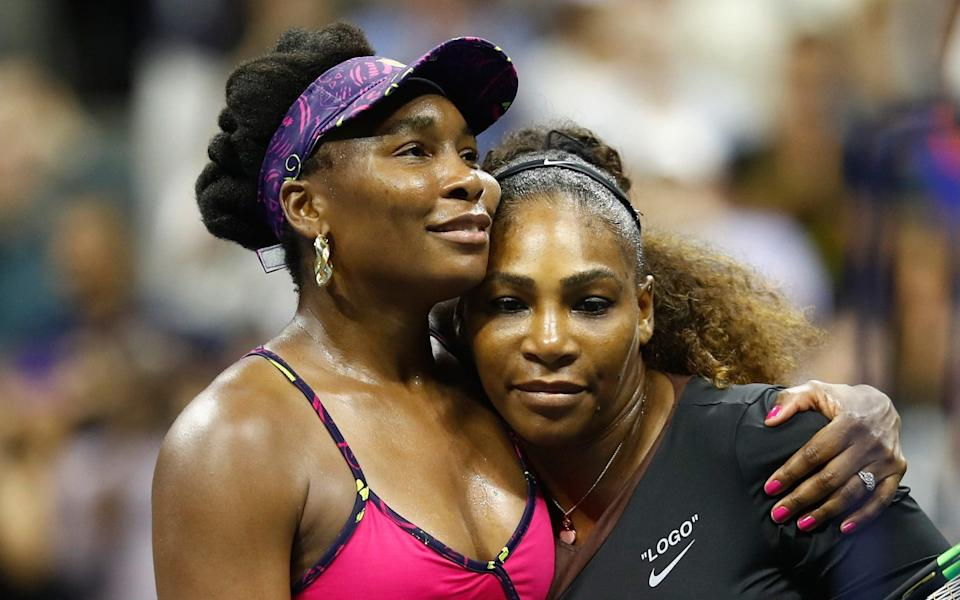 Venus and Serena Williams - Getty Images
