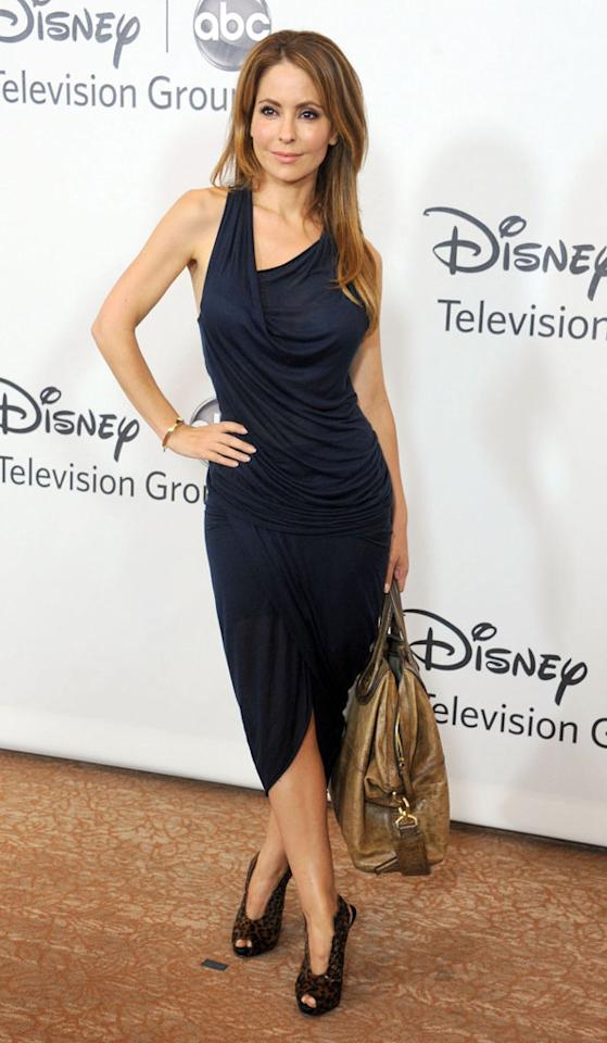 """Lisa LoCicero (""""General Hospital"""") arrives at the Disney/ABC Television Group Summer 2012 Press Tour Party at The  Beverly Hilton Hotel on July 27, 2012 in Beverly Hills, California."""