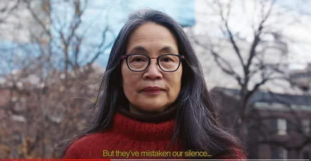 Eyes Open: An Anti-Asian Racism  video includes the lines: But they've mistaken our silence for compliance.... Silence is golden, as are we.