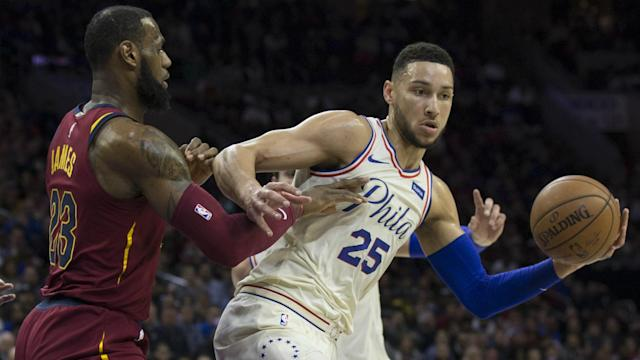 Ben Simmons discussed the absence of LeBron James from the east as he identified the new threats in the conference.
