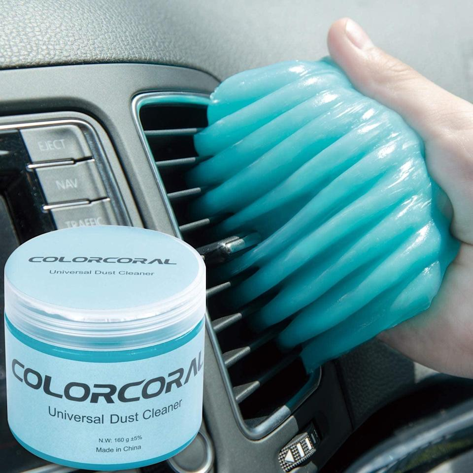 <p>Keep your car dust-free and clean with the <span>ColorCoral Universal Gel Cleaner for Car</span> ($6, originally $10). It will let you clean every nook and crany of your car.</p>