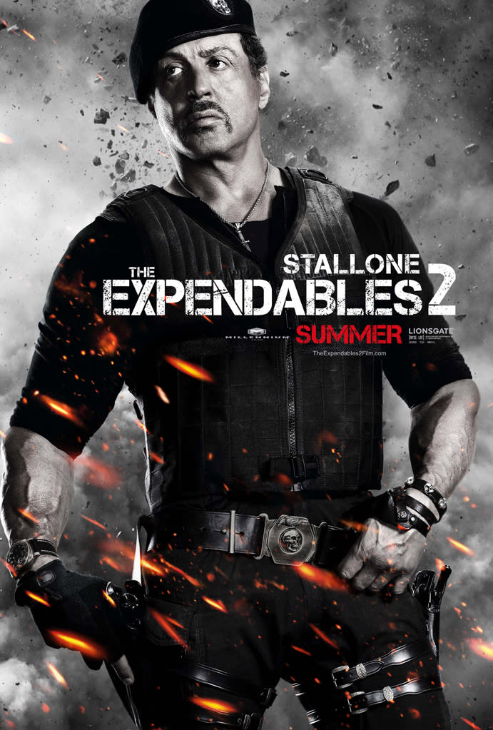 """Sylvester Stallone in Lionsgate's """"The Expendables 2"""" - 2012"""
