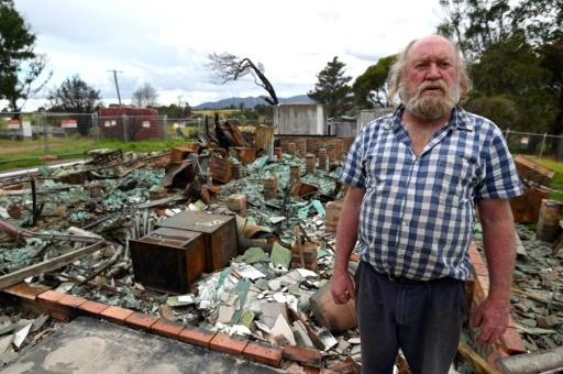 Wayne Keft, whose home was destroyed by the fires, says recovery has been 'slow and difficult' for many