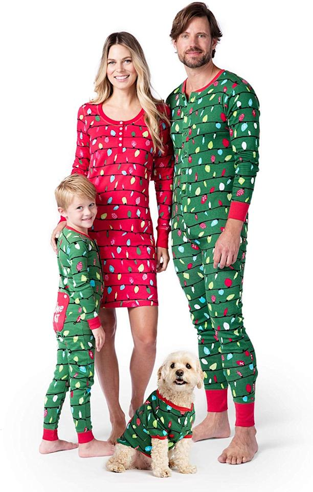 """<p>These <a href=""""https://www.popsugar.com/buy/Little-Blue-House-Hatley-Holiday-Lights-Pajamas-511516?p_name=Little%20Blue%20House%20by%20Hatley%20Holiday%20Lights%20Pajamas&retailer=amazon.com&pid=511516&price=21&evar1=moms%3Aus&evar9=42664485&evar98=https%3A%2F%2Fwww.popsugar.com%2Ffamily%2Fphoto-gallery%2F42664485%2Fimage%2F46850842%2FLittle-Blue-House-by-Hatley-Holiday-Lights-Pajamas&list1=pajamas%2Choliday%2Cgift%20guide%2Clittle%20kids%2Ckid%20shopping%2Choliday%20for%20kids%2Cgifts%20under%20%24100%2Cgifts%20under%20%2450%2Cgifts%20under%20%2475&prop13=mobile&pdata=1"""" rel=""""nofollow"""" data-shoppable-link=""""1"""" target=""""_blank"""" class=""""ga-track"""" data-ga-category=""""Related"""" data-ga-label=""""https://www.amazon.com/Little-Blue-House-Hatley-Suit-Holiday/dp/B075B1C1BC/ref=sr_1_74?dchild=1&amp;qid=1572911519&amp;s=apparel&amp;sr=1-74"""" data-ga-action=""""In-Line Links"""">Little Blue House by Hatley Holiday Lights Pajamas</a> ($21-$44) are so festive.</p>"""