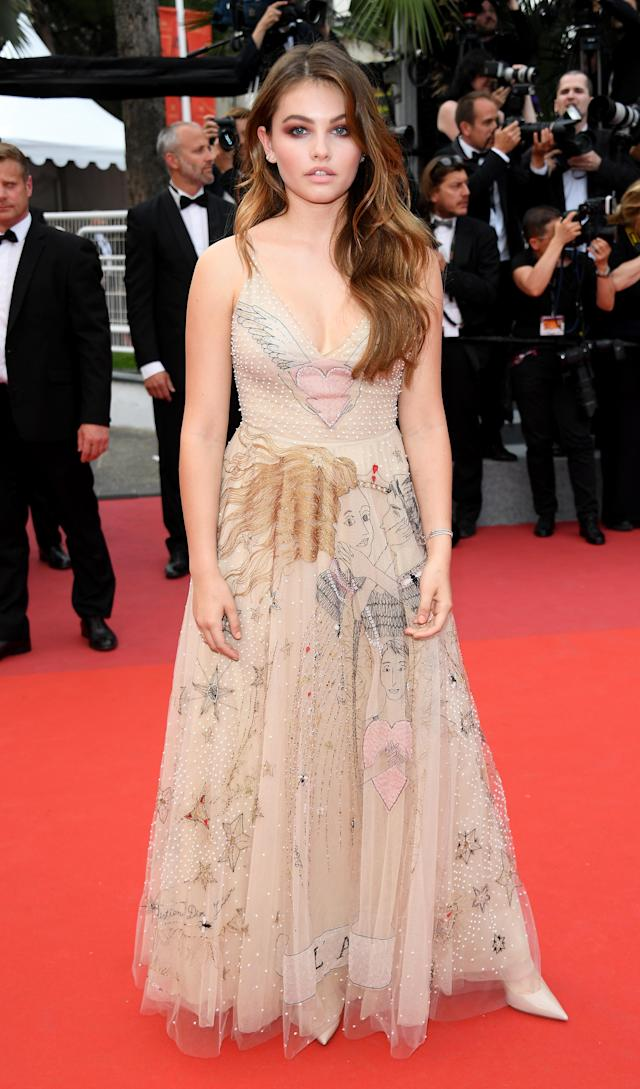French model Thylane Blondeau is celebrating her 17th birthday on April 5. (Photo: Getty Images)