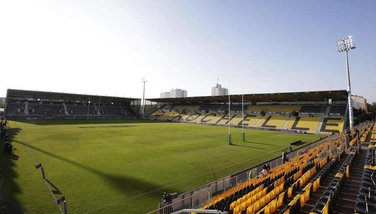 Rugby Union - La Rochelle v Gloucester Rugby - European Rugby Challenge Cup Semi Final - Stade Marcel Deflandre, La Rochelle, France - 22/4/17 General view of Stade Marcel Deflandre in La Rochelle Action Images via Reuters / Henry Browne Livepic