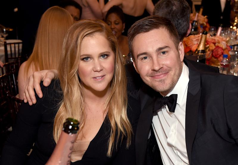 Amy Schumer's Boyfriend Ben Hanisch Has a Trick for Shooing Unwanted Photographers