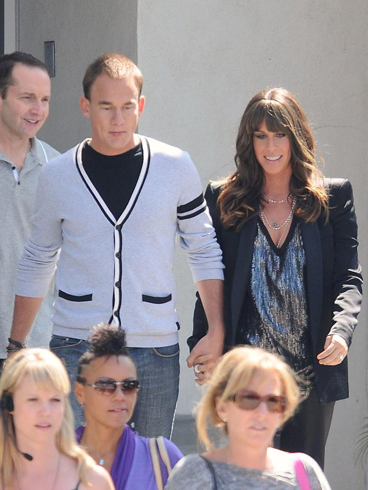 """Alanis Morissette and her husband, rapper Mario """"Souleye"""" Treadway, are expecting their first baby! The 36-year-old singer, who is five months along, announced the news in <i>Us Weekly</i> Wednesday and later tweeted: """"Yes, happy news....I'm pregnant :) We're so excited to start our family.... xo A."""" Giovanni/<a href=""""http://www.splashnewsonline.com"""" target=""""new"""">Splash News</a> - August 11, 2010"""
