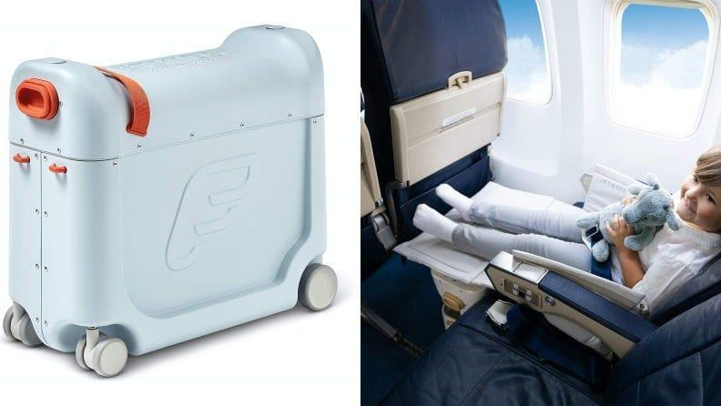 Make in-flight sleeping possible with the JetKids by Stokke Bedbox.
