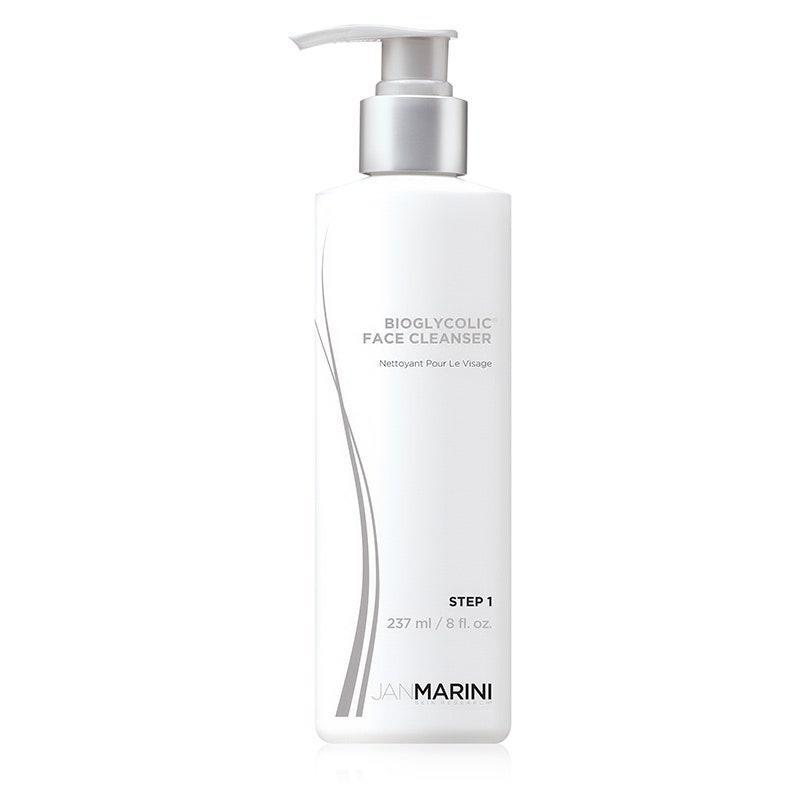 """<p>Jan Marini's Bioglycolic Face Cleanser is a dermatologist favorite because it contains sorbitol, a humectant derived from berries that leaves skin soft and hydrated. But the real kicker? """"By incorporating glycolic acid as a follicular cleansing agent, the skin is further prepared for other product application,"""" explains Emer.</p> <p><strong>$40</strong> (<a href=""""https://shop-links.co/1708646146855769028"""" rel=""""nofollow noopener"""" target=""""_blank"""" data-ylk=""""slk:Shop Now"""" class=""""link rapid-noclick-resp"""">Shop Now</a>)</p>"""
