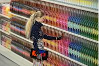 <p>Possibly the most iconic catwalk show to date, the Chanel supermarket was a shopping experience like no other. Shelves upon shelves of Chanel product was on displace from washing up powder to lemonade. (Where did it all go afterwards?) as models hit the Grand Palais with trolley in tow stocking up on the essentials. </p>