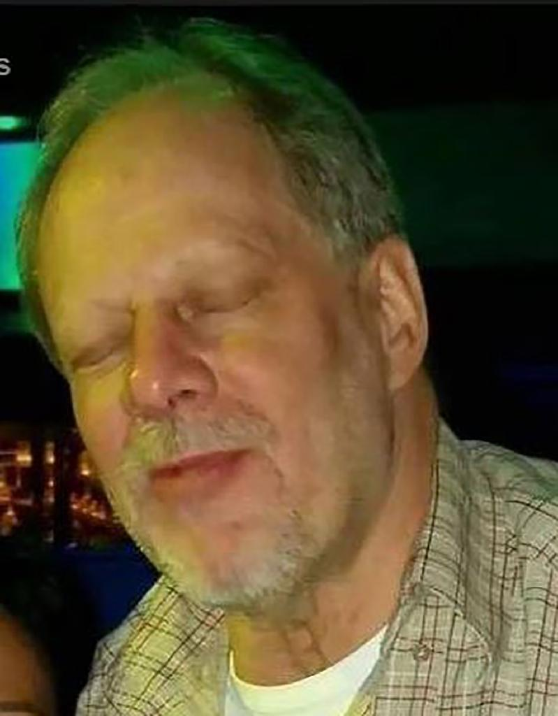 Stephen Paddock, seen here in an undated image, is thought to have looked for a way to escape after carrying out the deadly shooting (AFP Photo/-)