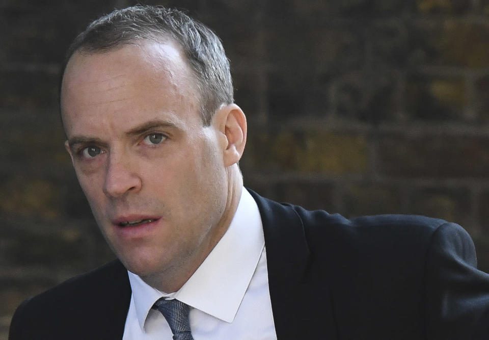 Dominic Raab said it was 'obvious' the referendum result would be revisited if Leave had lost (Getty)
