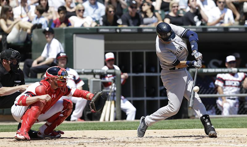 Jeter gets 4 hits as Yankees beat White Sox 7-1