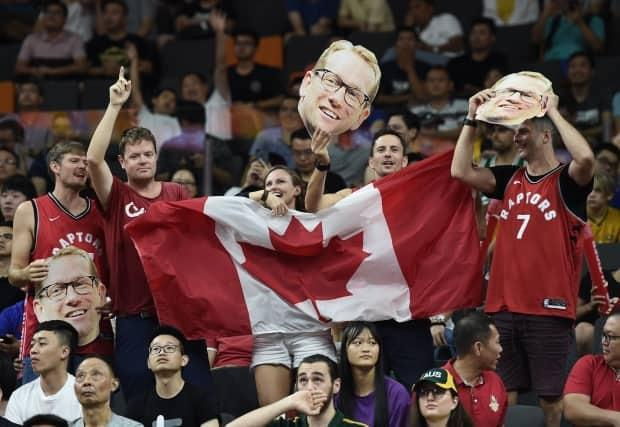 B.C. Public Health said Friday a percentage of fans will be allowed to attend a last-chance Olympic basketball qualifier in Victoria. (Ye Aung/AFP via Getty Images - image credit)