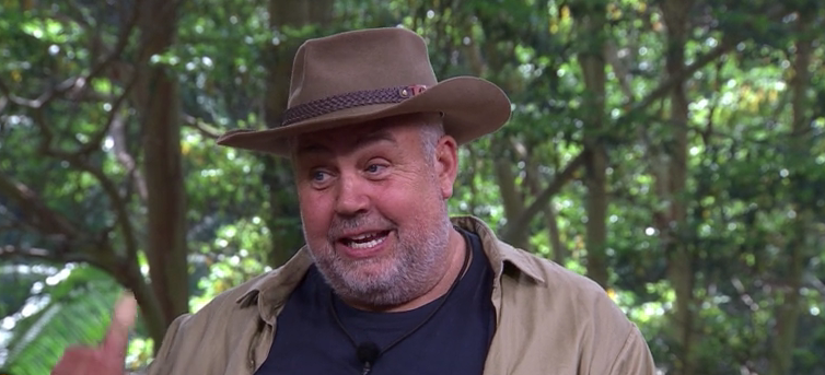 Cliff Parisi spoke fondly of his time in the jungle. (ITV