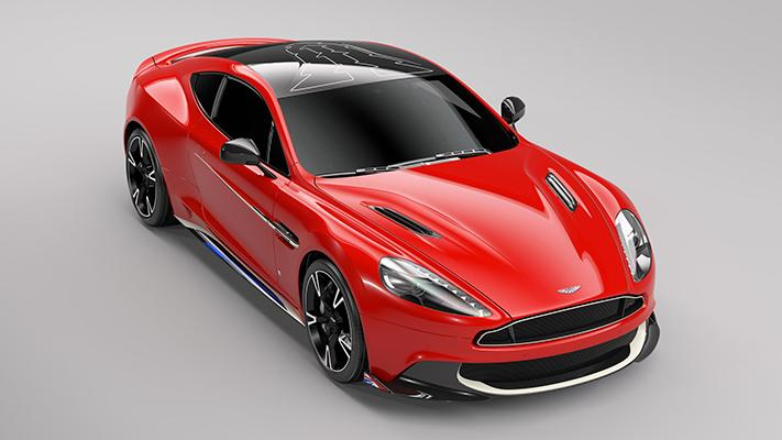 Aston Martin announces Vanquish S Red Arrows Edition