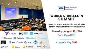 The World Stablecoin Summit will feature the likes of TrustToken, BRZ, DigitalBits, QCAD, CBRL, Blockgeeks, Consensus Lab and countless others. VirgoX, a stablecoin-focused digital asset exchange, and Global Digital Assets (GDA Capital), a leading blockchain capital markets firm, will head the conference as the founding members of the association.