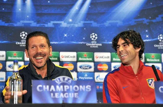 Tiago says Atletico players are willing to jump off a bridge for 'godlike' Diego Simeone