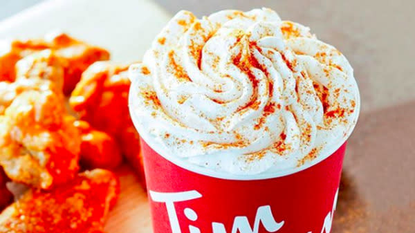 Tim Hortons Does Unthinkable, Creates Buffalo Sauce-Flavored Latte