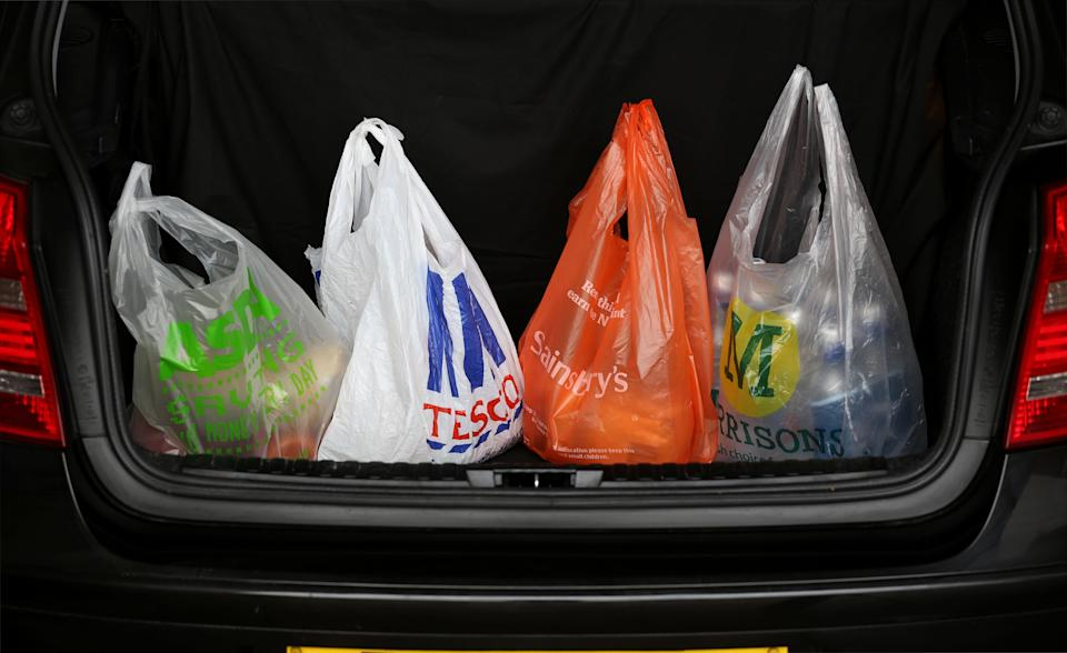 As a result of the charge the average person in England buys just four bags a year, compared to 140 in 2014.