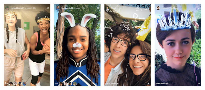 Instagram Face Filters  Instagram and Snapchat were ranked the worst for children's mental health ee994efe49db2367c095752431739a55