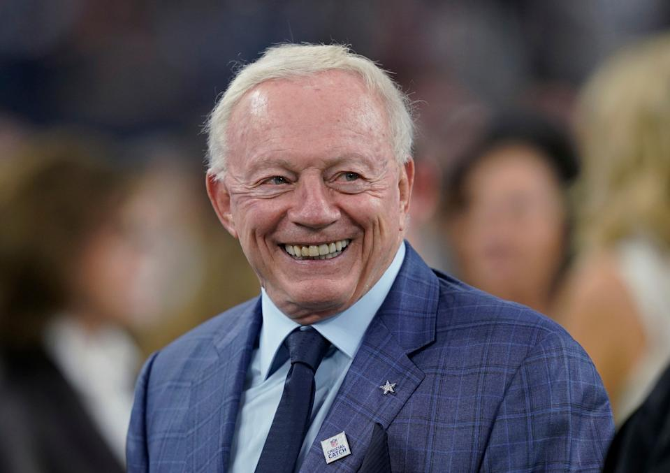 Jerry Jones Cowboys.