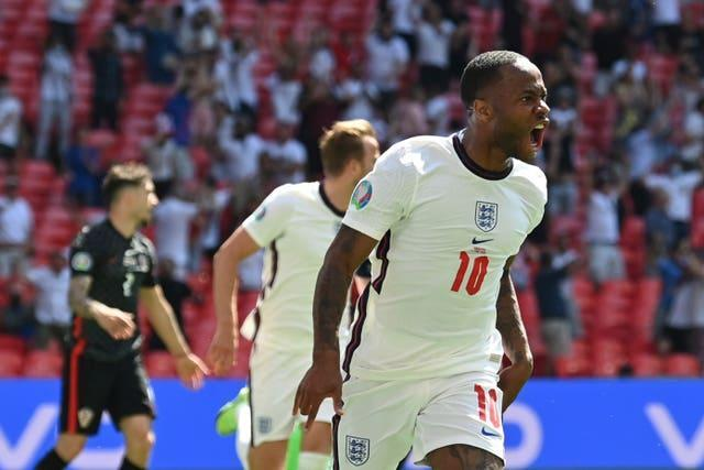 Sterling's goal was enough for England to beat Croatia in Group D.