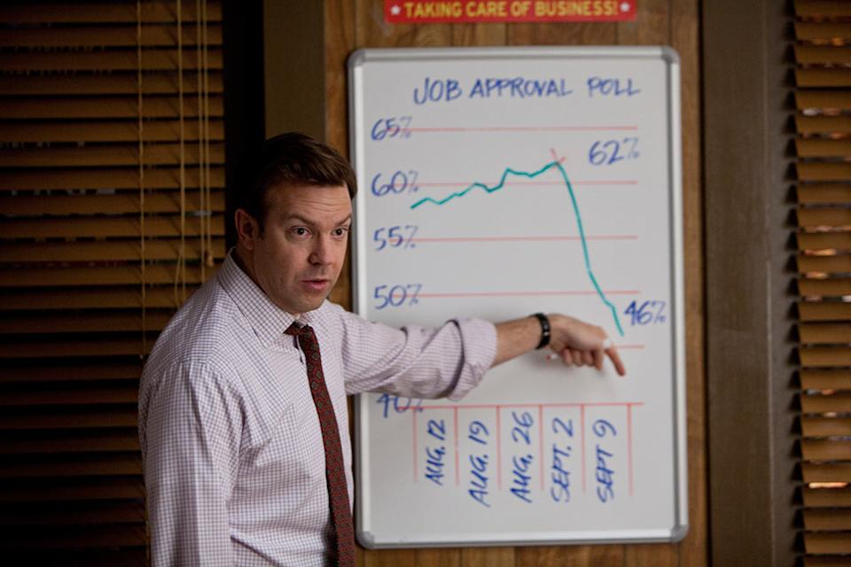 """Jason Sudeikis in Warner Bros. Pictures' """"The Campaign"""" - 2012"""