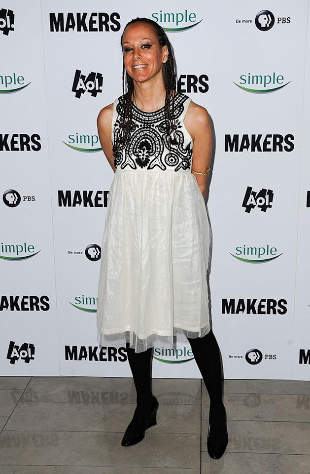 "Malika Saada Saar arrives at ""MAKERS: Women Who Make America"" New York Premiere at Alice Tully Hall on February 6, 2013 in New York City."