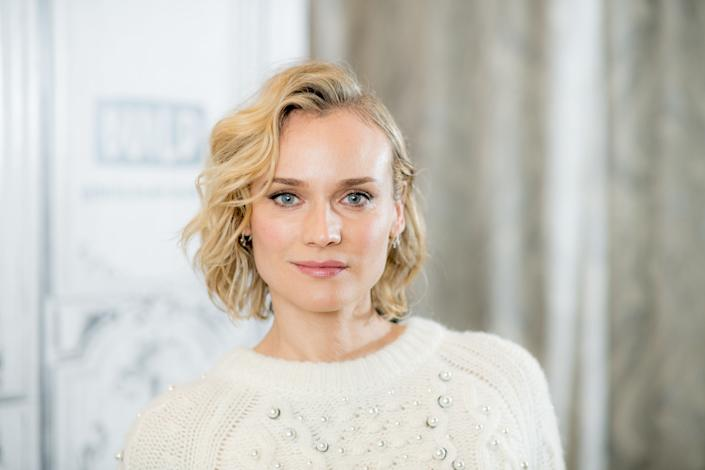 NEW YORK, NY - DECEMBER 05: Diane Kruger discusses 'In The Fade' with the Build Series at Build Studio on December 5, 2017 in New York City. (Photo by Roy Rochlin/WireImage)