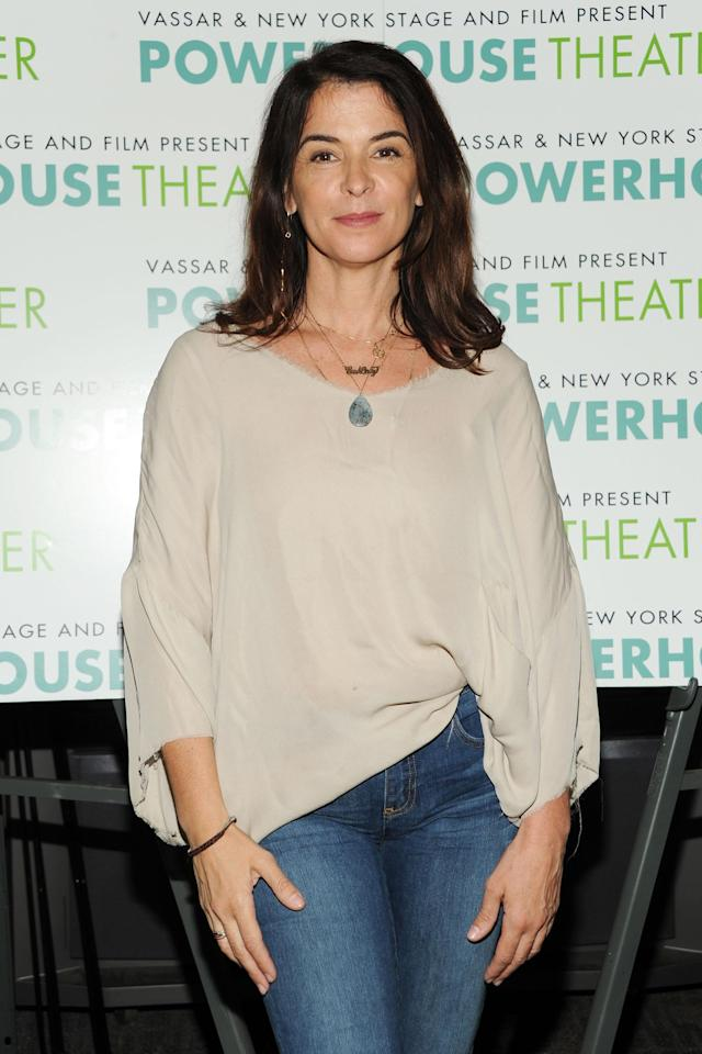 Annabella Sciorra attends a Broadway event in 2013. (Photo: Ben Gabbe/Getty Images)