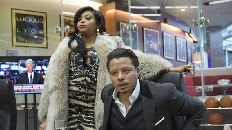 Taraji P. Henson and Terrence Howard star in Fox drama 'Empire'. (Credit: Fox)