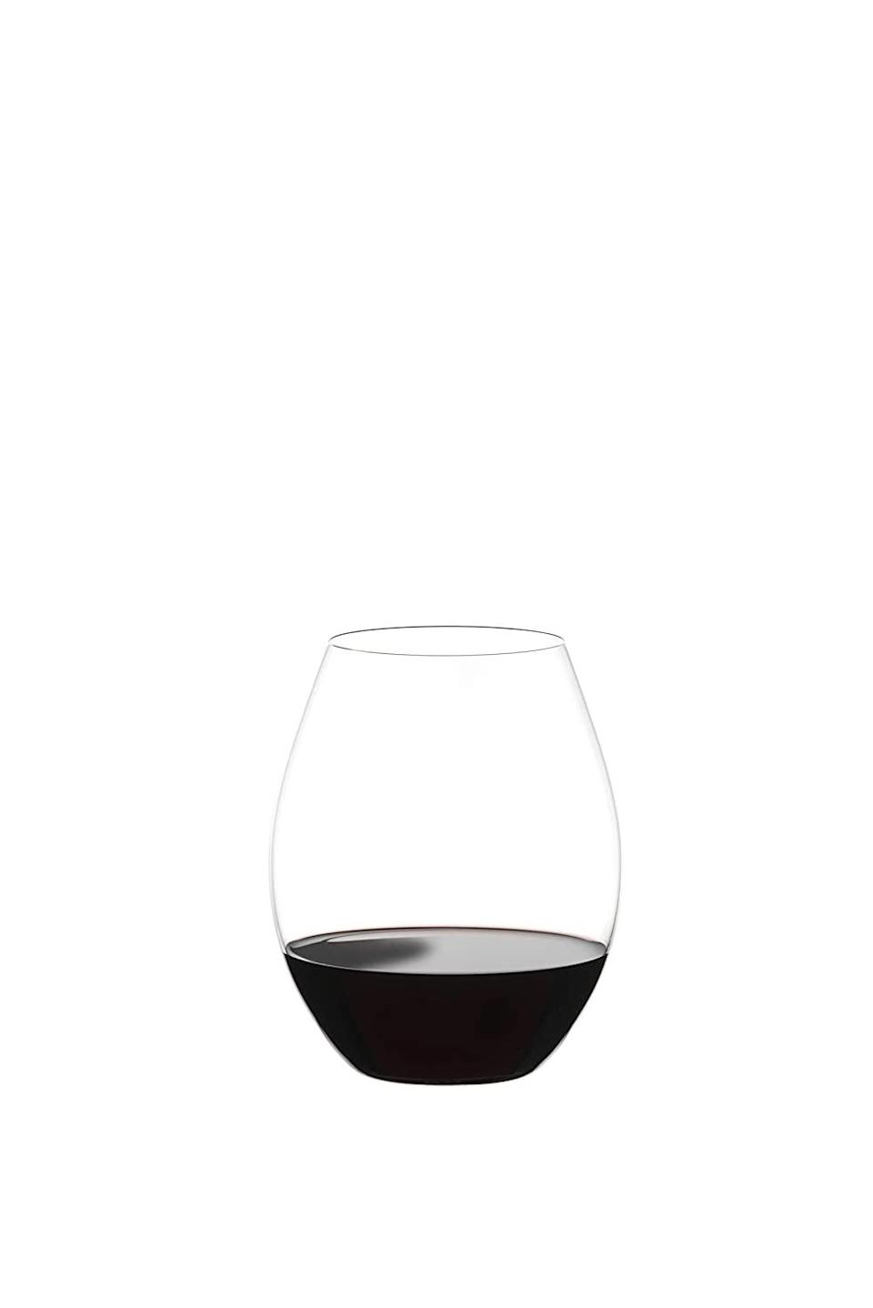 """<h2>Riedel Tumbler Wine Glasses</h2><br><br><strong>Riedel</strong> Tumbler Wine Glasses, $, available at <a href=""""https://www.amazon.com/Riedel-Collection-Tumbler-Glasses-Clear/dp/B085FXG3KY"""" rel=""""nofollow noopener"""" target=""""_blank"""" data-ylk=""""slk:Amazon"""" class=""""link rapid-noclick-resp"""">Amazon</a>"""