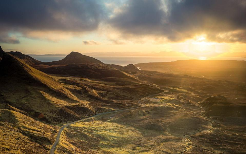 Scotland has some of the world's most impressive driving routes - Getty