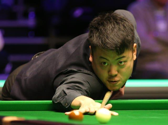 Liang Wenbo will face Neil Robertson in the first round