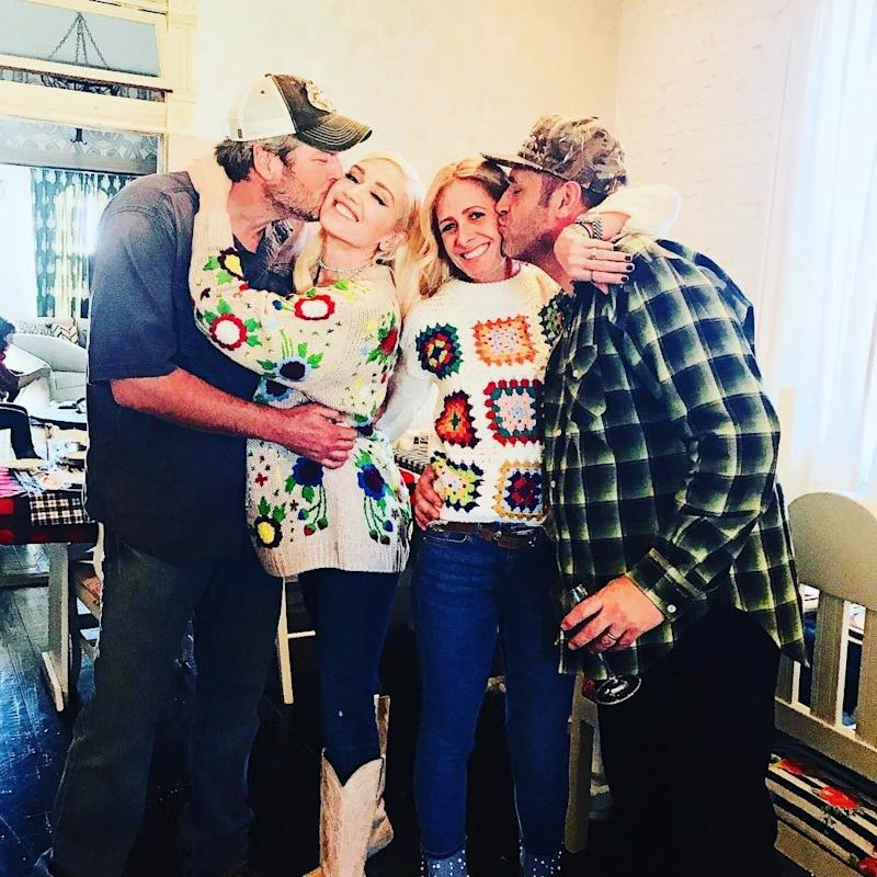 Gwen Stefani Spend Thanksgiving With Blake Sheldon's Family