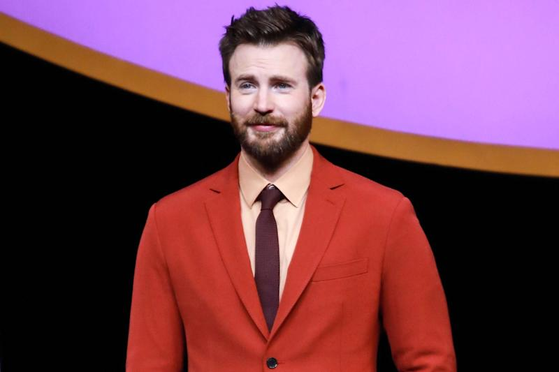 Chris Evans Accidentally Posts X-Rated Photos on Instagram
