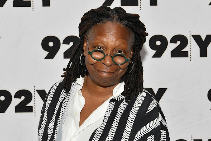 NEW YORK, NEW YORK - MAY 28: Whoopi Goldberg attends Abbi Jacobson & Ilana Glazer in Conversation with Whoopi Goldberg at 92nd Street Y on May 28, 2019 in New York City. (Photo by Dia Dipasupil/Getty Images)