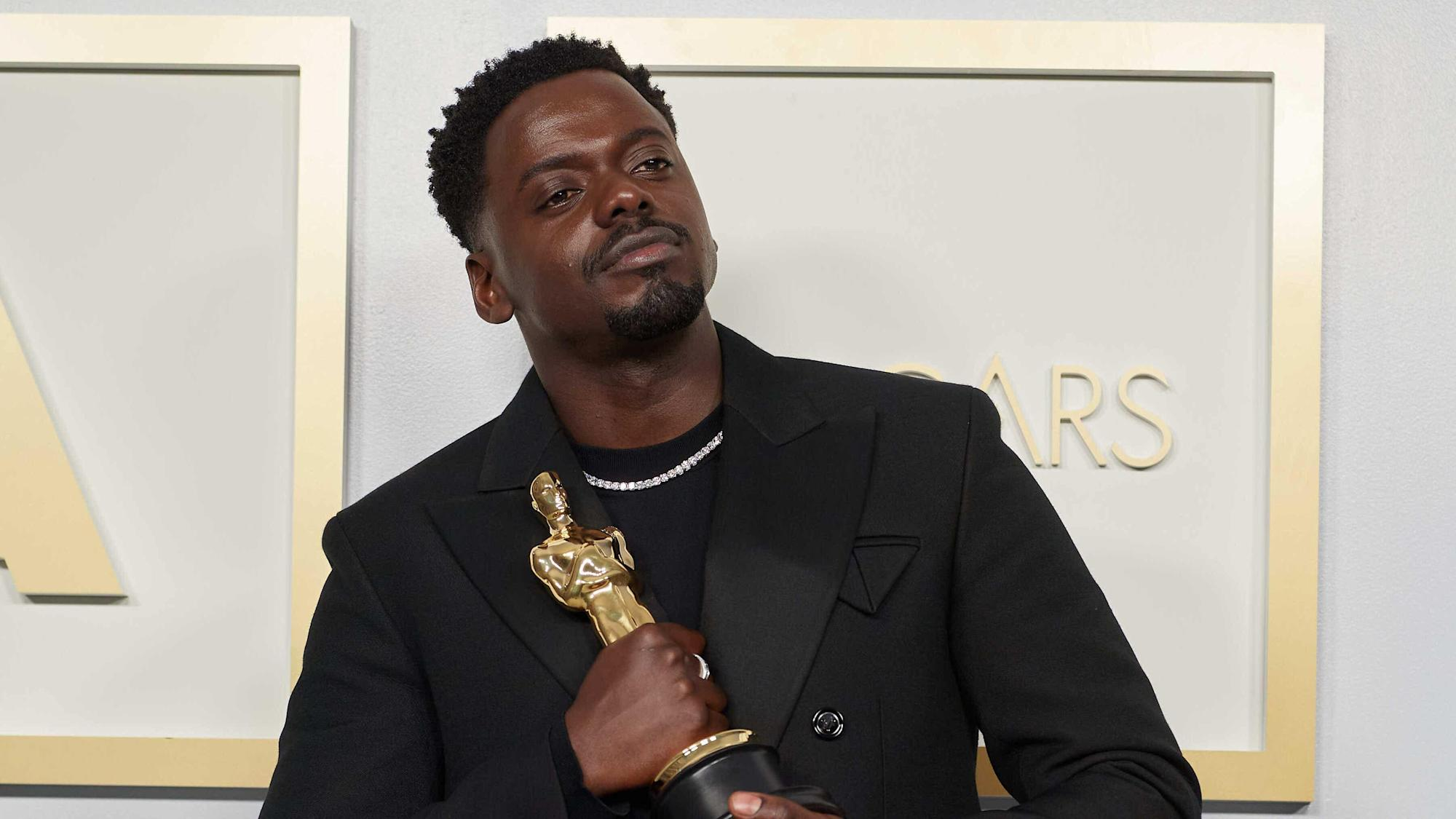 John Boyega hails 'King Kaluuya' after fellow Briton's historic Oscars win